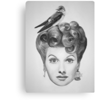 Lucille Bird Ball  Canvas Print