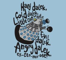 Hard Dalek, Cold Dalek..... by B4DW0LF