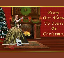 Christmas, Vintage Home, Holiday Toast  by Delores Knowles