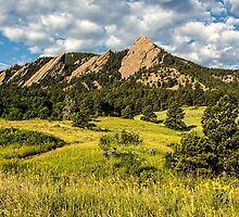 Delicious Vanilla Clouds On A Summer Chautauqua Morning by Gregory J Summers
