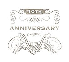 10th Anniversary (Vintage)  by thepixelgarden