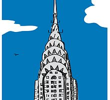 I Love the Chrysler Building by Rich Anderson