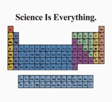 Science Is Everything (Periodic Table) by f451