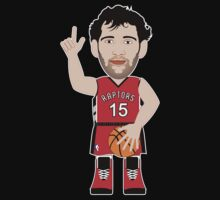NBAToon of Jorge Garbajosa, player of Toronto Raptors by D4RK0