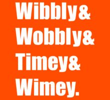 Wibbly Wobbly Ampersand Kids Clothes