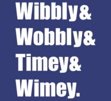 Wibbly Wobbly Ampersand T-Shirt