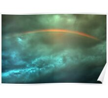 The Rainbow Above Poster