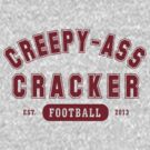 Creepy Ass Cracker Athletic Version 1 by BroadcastMedia