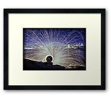 ~ SPIN Cycle ~ Framed Print