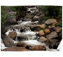 Guanella Pass Stream Poster