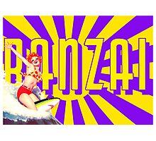 Banzai!!! Photographic Print