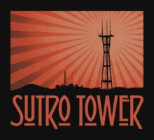 Tower of the Holy (Orange Sunburst) T-Shirt