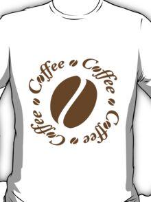 Coffee Bean Circle T-Shirt