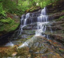 Forgotten Falls June 2013 by Aaron Campbell