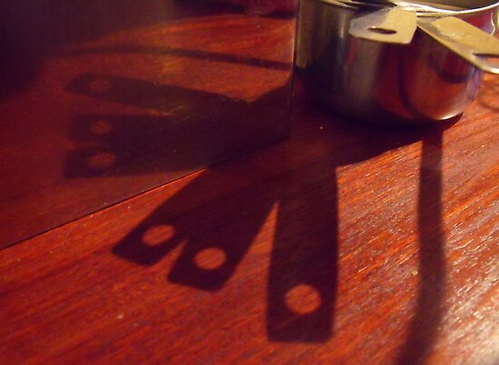 269/365 there are interesting shadow shapes to be found in a kitchen by LouJay