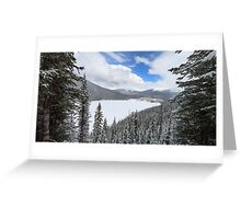 Peacefully Frozen Greeting Card