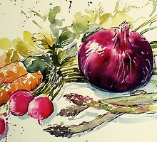 veggie delight by Rebecca Yoxall