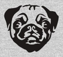 Pug by Cheesybee