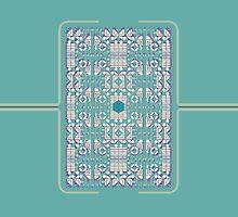 Geoform_Green[iPad] by James Heffernan