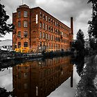 Mill x2 on the Leeds - Liverpool Canal.  by Mbland