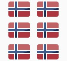 Flags of the World - Norway x6 by CongressTart