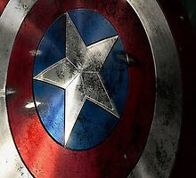 Captain America Shield by MrDom007