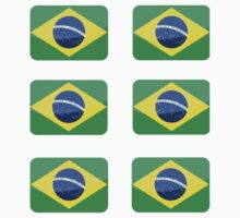 Flags of the World - Brazil x6 by CongressTart