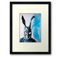 Why are you wearing that stupid man suit? Framed Print
