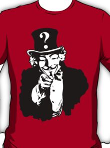 Anonymous Needs You T-Shirt