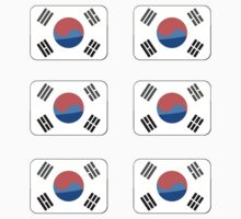 Flags of the World - Republic of Korea x6 by CongressTart