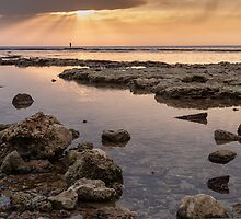 Sunset In Acre by Sergey Simanovsky