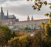 Prague Castle by Sergey Simanovsky