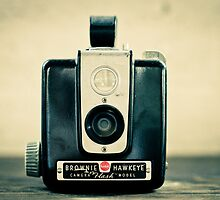 Brownie Hawkeye by Cassandra DelliCarpini