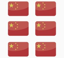 Flags of the World - China x6 by CongressTart