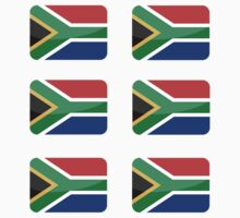 Flags of the World - South Africa x6 by CongressTart