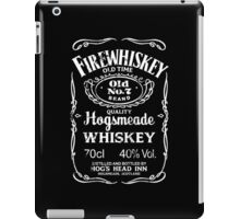 Hogsmeade's Old No.7 Brand Firewhiskey iPad Case/Skin