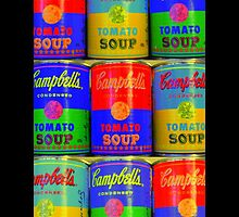 Homage to Andy Warhol  by myraj