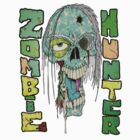 Zombie Hunter Logo by Skree