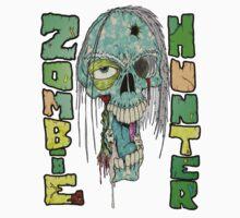 Zombie Hunter Logo by Skree