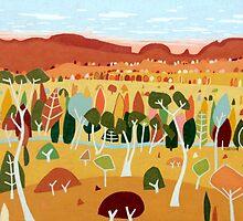 Whimsical Autumn by Richard Klekociuk
