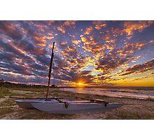 Beached at Byron Bay Photographic Print