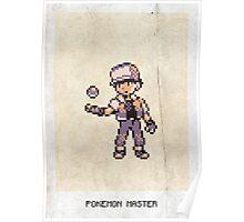 Pokemon Master Poster