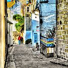 A back street in St. Ives by Anthony Hedger Photography