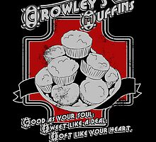 Crowley's Muffins by KanaHyde