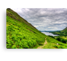 View from The Hause Canvas Print