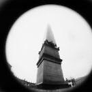 Obelisk of Infinite Height - Lomo by Yao Liang Chua