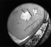 You're My Wonder (Graffiti) Wall - Lomo by Yao Liang Chua