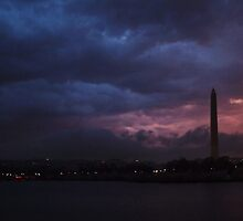 Clouds over Washington by Bine