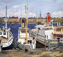 Boats  by SergejK