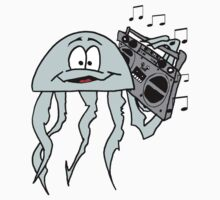 Jellyfish Boombox Kids Clothes